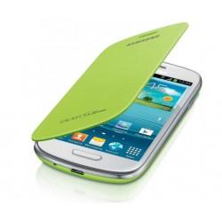 Flipové pouzdro Samsung Galaxy S3 mini - zelené