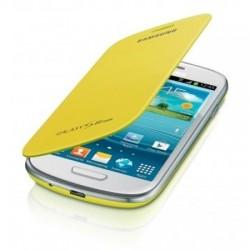 Flipové pouzdro Samsung Galaxy S3 mini - žluté