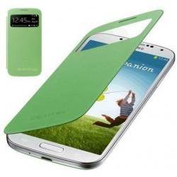 Flipové pouzdro S-view Samsung Galaxy S4 mini - zelené