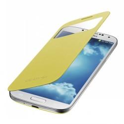 Flipové pouzdro S-view Samsung Galaxy S4 mini - žluté