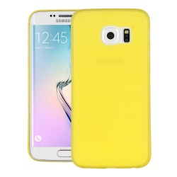 Ultratenký kryt pro Samsung Galaxy S6 Edge Plus žlutý