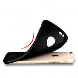 Silikonový kryt pro Apple iPhone 6/6S - černý