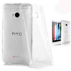 Ultratenký silikonový kryt pro HTC One M7 - průhledný