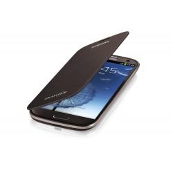 Flipové pouzdro Samsung Galaxy S3 mini - hnědé