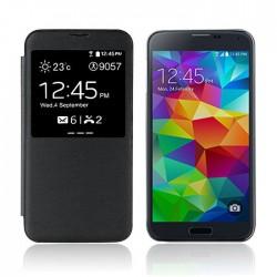Flipové pouzdro S-view Samsung Galaxy S5 - černé
