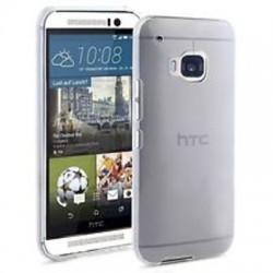 Silikonový kryt pro HTC One M9 - průhledný
