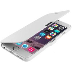 Flipové pouzdro Apple iPhone 6/6S Plus - bílé