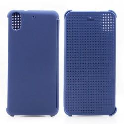 Pouzdro DOT VIEW HTC Desire 626 modré