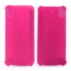 Pouzdro DOT VIEW HTC Desire 626 růžové