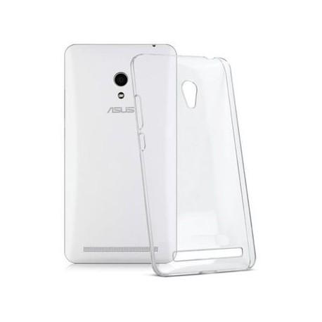 Ultratenký silikonový kryt pro Asus ZenFone 5 - průhledný