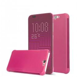 Pouzdro DOT VIEW HTC One A9 růžové