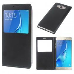 Flipové pouzdro S-view Samsung Galaxy A7 (2016) - černé
