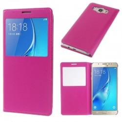 Flipové pouzdro S-view Samsung Galaxy S7 Edge - růžové