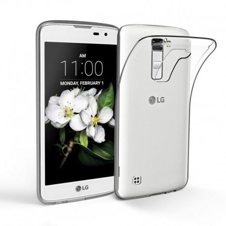 Silikonový kryt pro LG K7 - průhledný