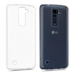 Silikonový kryt pro LG K8 - průhledný