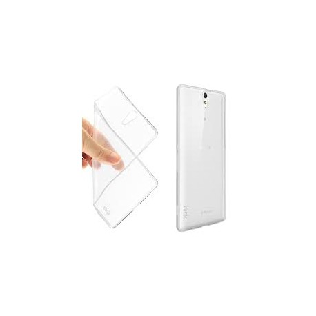 Silikonový kryt pro Sony Xperia C5 - průhledný