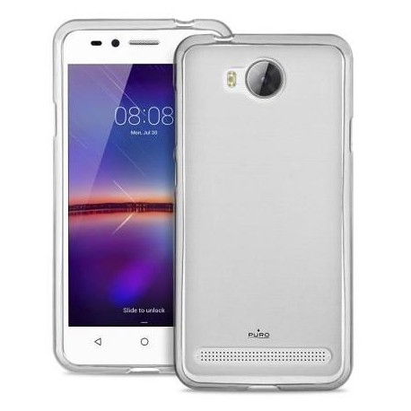 Silikonový kryt pro Huawei Y3 II - průhledný