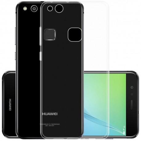 Silikonový kryt pro Huawei P10 Lite - průhledný