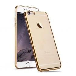 Silikonový kryt pro Apple iPhone 6/6S - zlatý