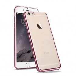 Silikonový kryt pro Apple iPhone 6/6S - růžový