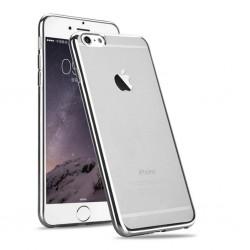 Silikonový kryt pro Apple iPhone 6/6S - stříbrný