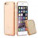 Silikonový kryt pro Apple iPhone 6/6S Plus - zlatý