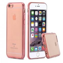 Silikonový kryt pro Apple iPhone 6/6S Plus - růžový