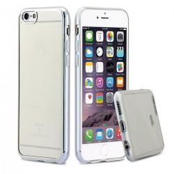 Silikonový kryt pro Apple iPhone 6/6S Plus - stříbrný