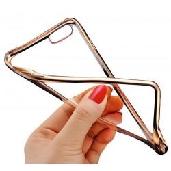 Silikonový kryt pro Apple iPhone 7 - zlatý