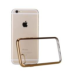 Silikonový kryt pro Apple iPhone 7 Plus - zlatý