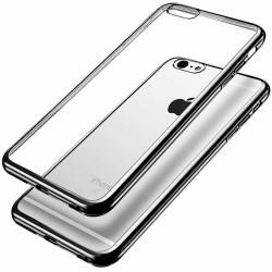 Silikonový kryt pro Apple iPhone 7 Plus - stříbrný