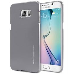 Pouzdro Mercury  i-Jelly Metal pro Samsung Galaxy S7 - šedé
