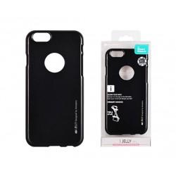 Pouzdro Mercury i-Jelly Metal pro Apple iPhone 6/6s - černé