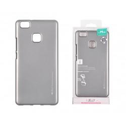 Pouzdro Mercury i-Jelly Metal pro Huawei P9 Lite - šedé