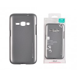 Pouzdro Mercury i-Jelly Metal pro Samsung Galaxy J5 (2016) - šedé