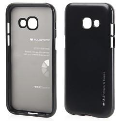 Pouzdro Mercury i-Jelly Metal pro Samsung Galaxy J3 (2017) - černé