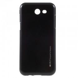 Pouzdro Mercury i-Jelly Metal pro Samsung Galaxy A3 (2017) - černé