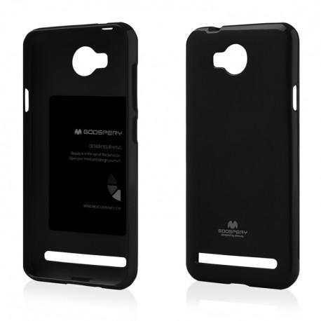 Pouzdro Goospery Mercury Jelly pro Huawei Y3 II - černé