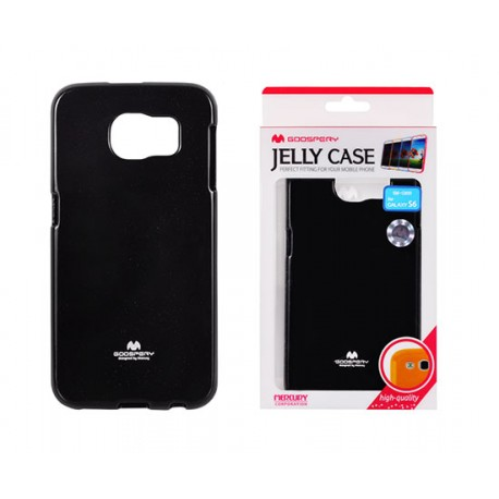 Pouzdro Goospery Mercury Jelly pro Samsung Galaxy S6 - černé