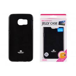 Pouzdro Goospery Mercury Jelly pro Samsung Galaxy S6 Edge - černé