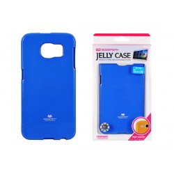 Pouzdro Goospery Mercury Jelly pro Samsung Galaxy S6 Edge - modré