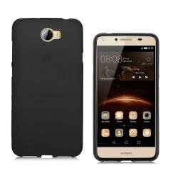 Silikonový kryt pro Huawei Ascend Y5 II / Y6 II Compact - černý
