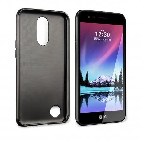Silikonový kryt pro LG K10 (2017) - černý