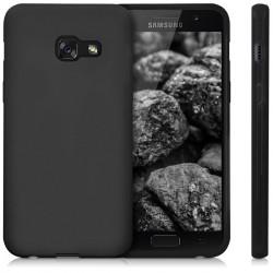 Silikonový kryt pro Samsung Galaxy A3 (2017) - černý