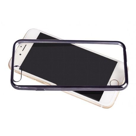 Silikonový kryt pro Apple iPhone 4/4s - šedý