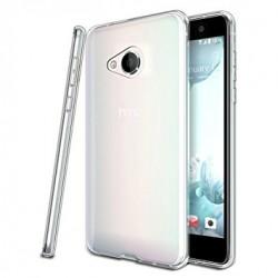Silikonový kryt pro HTC U Play - průhledný