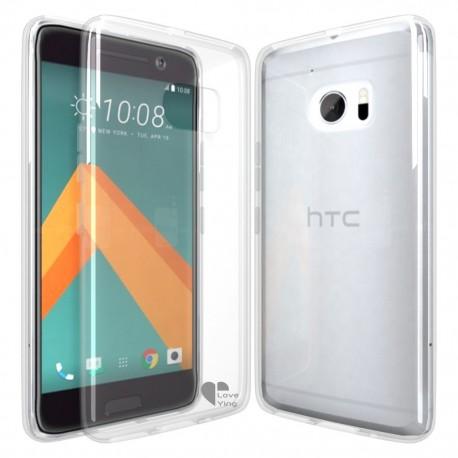 Silikonový kryt pro HTC U Ultra - průhledný