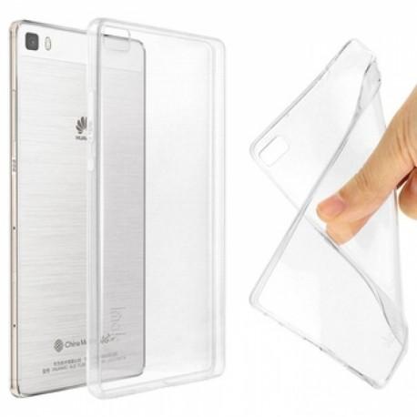 Ultratenký silikonový kryt pro Huawei P8 Lite (2017)  - průhledný