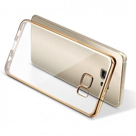 Silikonový kryt pro Samsung Galaxy S7 - zlatý