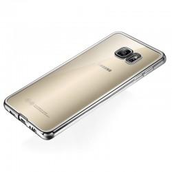 Silikonový kryt pro Samsung Galaxy S6 Edge - šedý